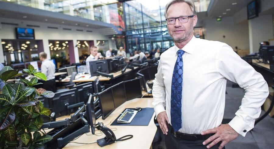 Jyske Bank - Direktør Anders Dam - Her i hovedsædet i Silkeborg
