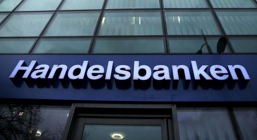 Fremgangen i Handelsbankens danske afdeling var til at tage og føle på i tredje kvartal af 2017, i hvert fald når man sammenligner med samme kvartal af 2016.. REUTERS/Phil Noble/File Photo