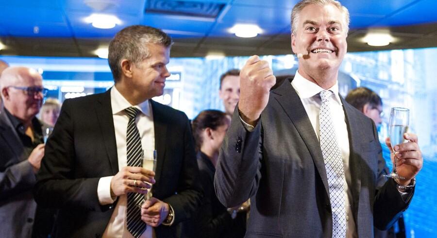 Nets børsintroduceres. Bo Nilsson, adm. direktør i Nets.