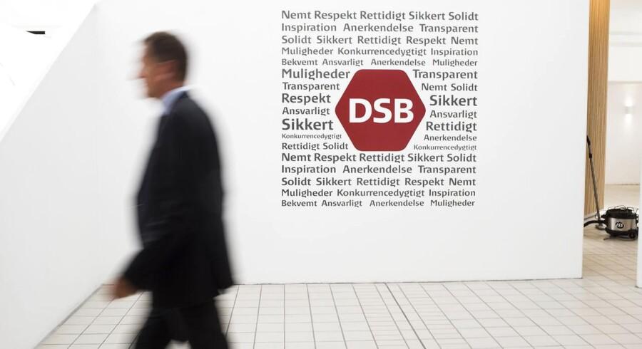 DSB direktør Flemming Jensen.