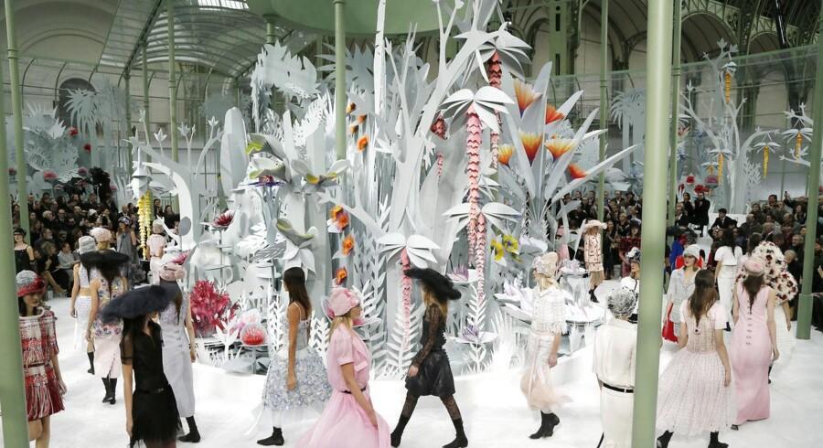 Chanel har i den grad medvind for tiden. Her er det fra et modeshow i Paris tidligere i år.