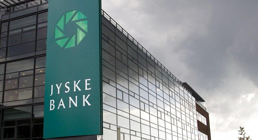 Arkivfoto: Jyske Banks hovedkvarter i Silkeborg. (Foto: Torben Christensen/Scanpix 2014)