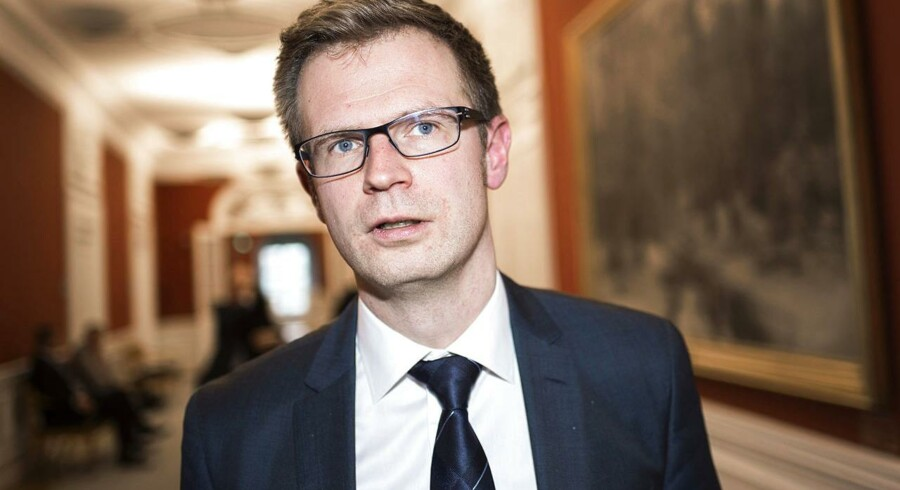 Socialdemokraternes Benny Engelbrecht. (Foto: David Leth Williams/Scanpix 2015)
