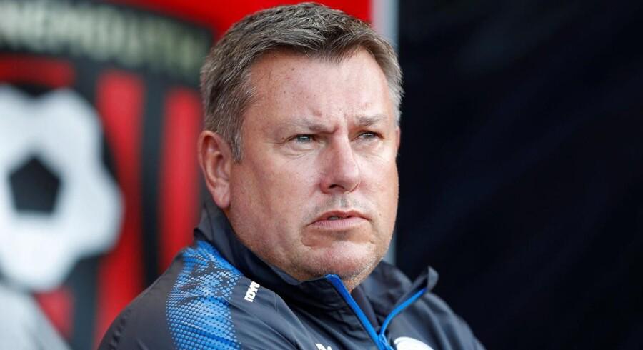 Craig Shakespeare er færdig som manager for Premier League-klubben Leicester.