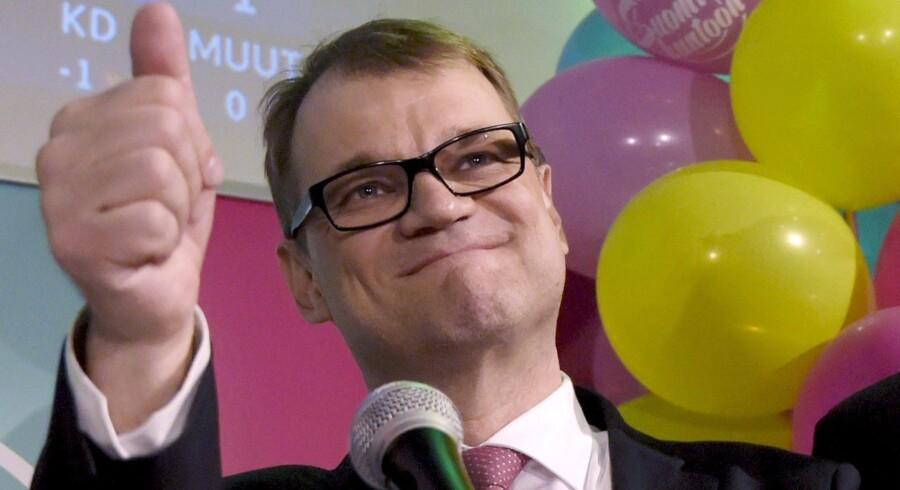 Juha Sipilä er både mangemillionær og med næsten 100 procents sikkerhed kommende statsminister i Finland.