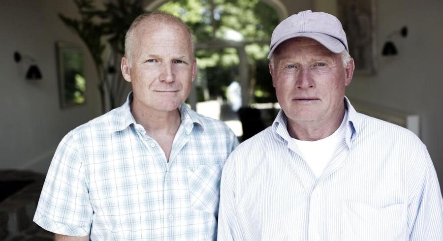 Harald Holstein-Holsteinborg og hans bror Lars stiftede og solgte Noa Noa til Excel. I dag vil kapitalfonden af med den gældsplagede forretning - gerne gratis.