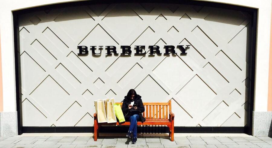 Burberry butik i Rom, 24. marts 2016.