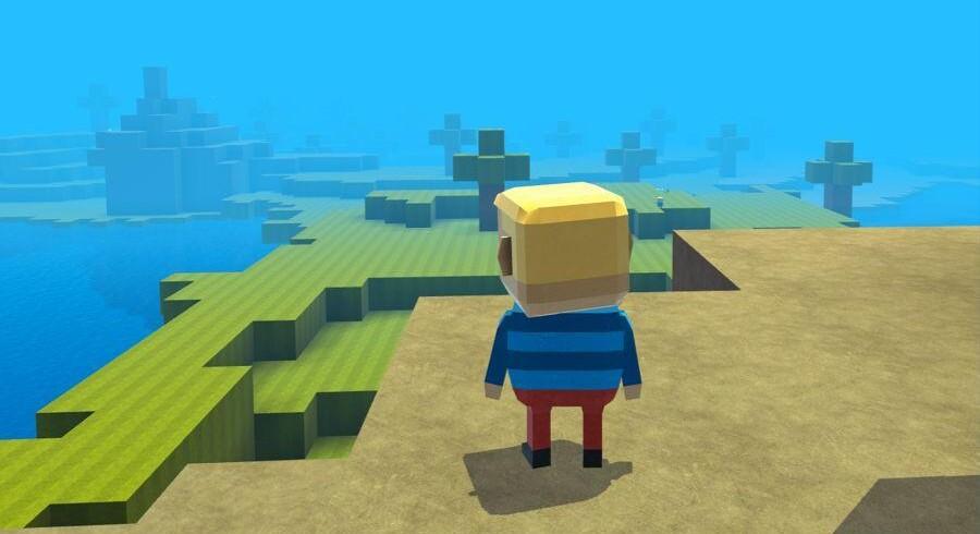 Kogama er en dansk spilplatform med omkring to millioner spil. Nu skal den ud i verden med penge fra Nordisk Film i ryggen. Foto: Kogama