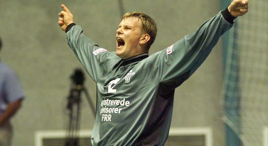 I 1999 vogtede Søren Haagen det danske mål ved VM i Egypten. Scanpix/Ernst Van Norde