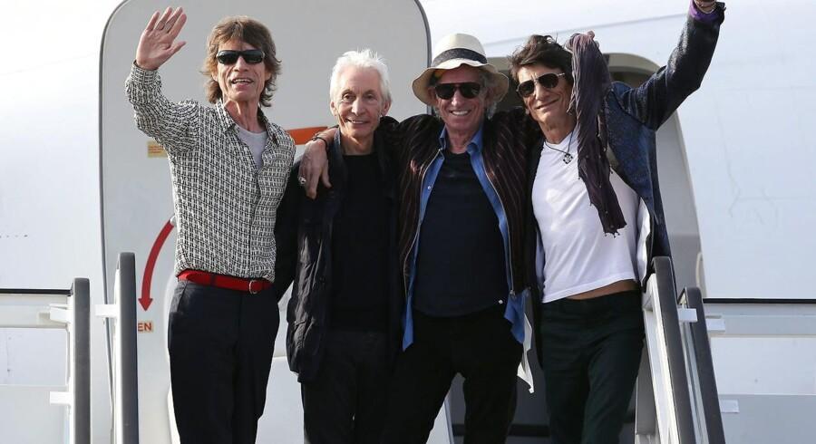 Rolling Stones spiller en gratis koncert på Cuba i aften