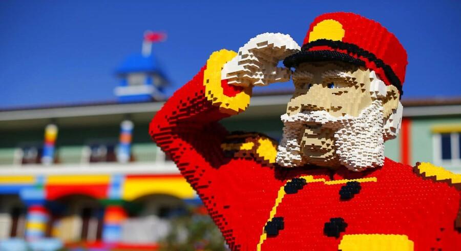 Legoland har haft stor fremgang på besøgstallet i år.