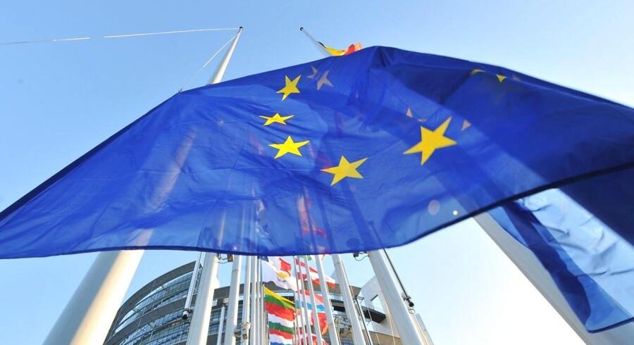 ARKIVFOTO: Ud over et fokus på migration vil det østrigske formandskab skabe mere velstand i Europa ved at sikre europæisk konkurrenceevne. (Foto: GEORGES GOBET/Scanpix 2014)