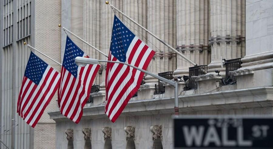 Arkivfoto: The New York Stock Exchange.