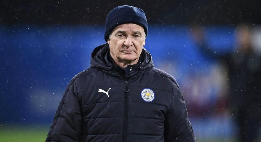Arkivfoto. Claudio Ranieris Leicester har nedrykningsstregen lige i hælene efter nederlaget til Burnley.