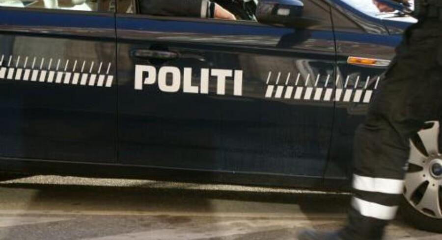 Politiet er fredag morgen rykket ud til et fund af en død person i strandkanten ved Faxe på Sydsjælland. Colourbox/Free