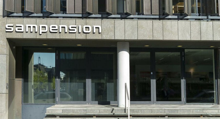 Sampensions hovedkontor på Tuborg Havnevej i København.