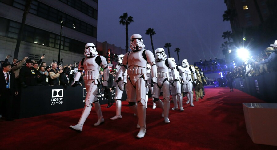"""Rogue One - A Star Wars Story"" under en gallapremiere i Hollywood i sidste uge. Reuters/Mario Anzuoni"