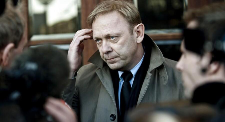 ARKIVFOTO. Nye oplysninger er kommet frem i sagen, der fik nu forhenværende nyhedsdirektør på TV 2, Michael Dyrby, til at trække sig fra sin post.