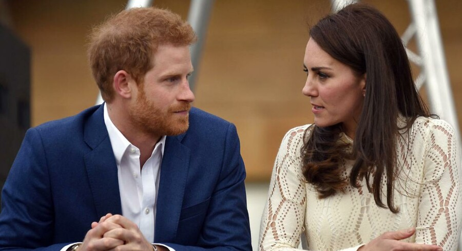 Prins Harry og hertuginde Kate.