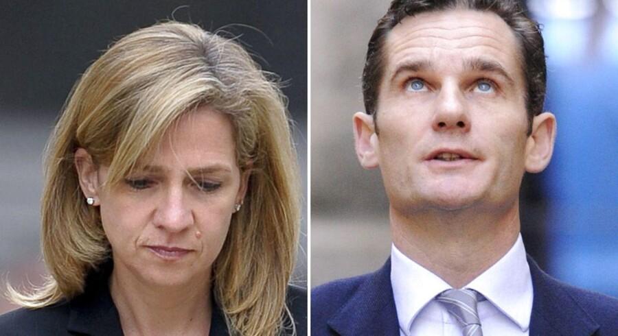 Spaniens prinsesse Cristina og hendes mand bliver mandag stillet for retten i Palma de Mallorca i en sjælden straffesag mod kongelige.