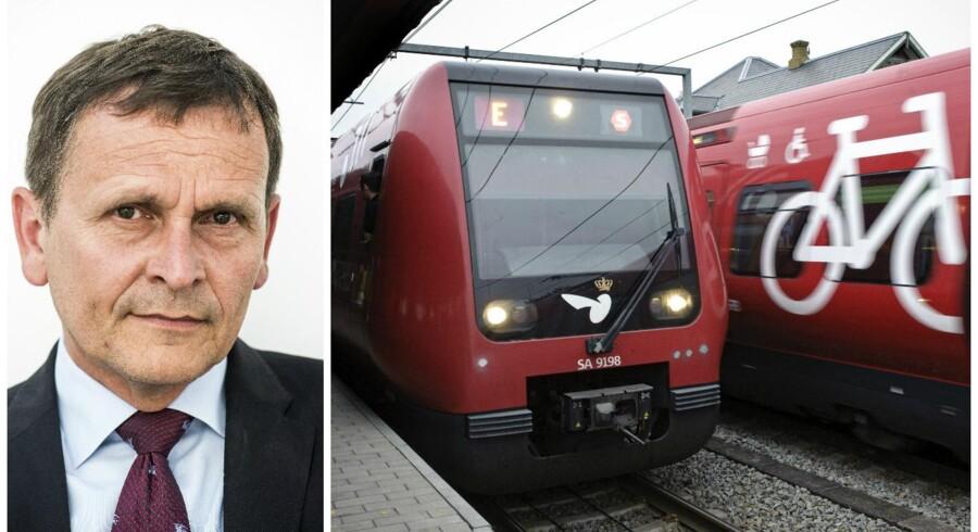 DSB S-tog: Jens Nørgaard LarsenDSB-direktør Flemming Jensen: Søren Bidstrup