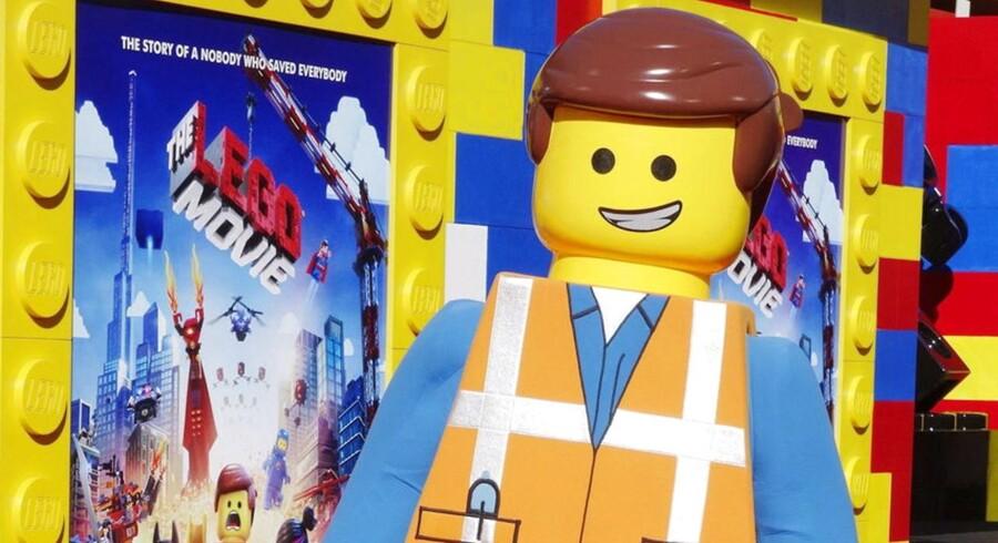 """Det amerikanske filmselskab Warner og den danske legetøjsproducent Lego har brugt et trecifret millionbeløb på den computeranimerede spillefilm """"The Lego Movie""""."""