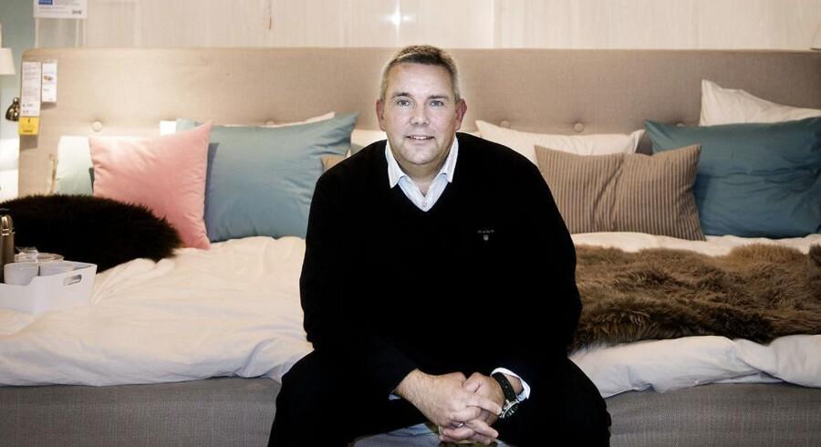 Dennis Balslev, administrerende direktør i Ikea Danmark, er i gang med at nå den største omsætning nogensinde.