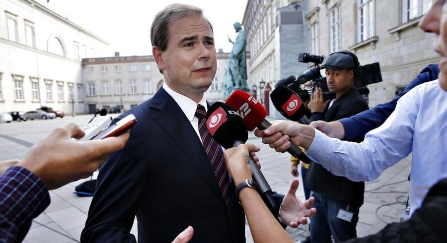Forsvarsminister Nicolai Wammen (S).