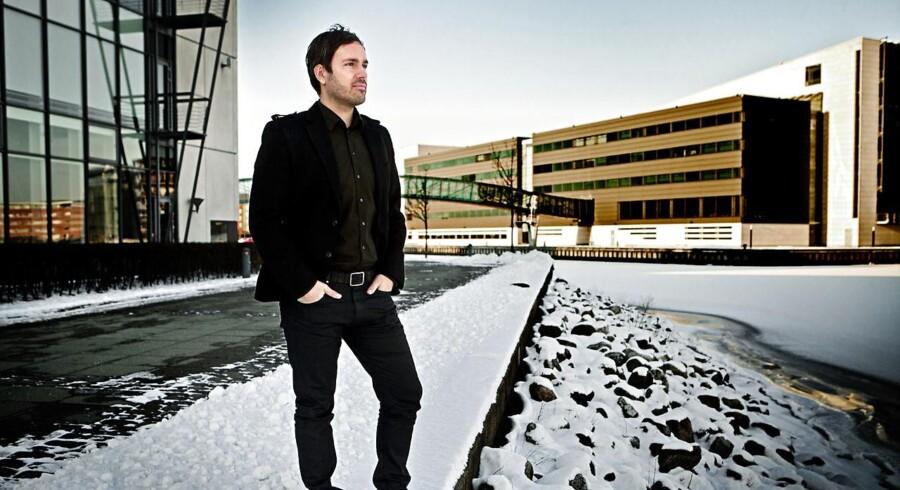 Arkivfoto: Martin Ferro Thomsen, der står bag iværksættevirksomheden Conferize.