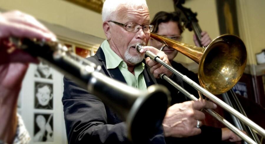 """Palæ Bars Jazzpris blev i 2012 uddelt til Ole """"Fessor"""" Lindgreen."""