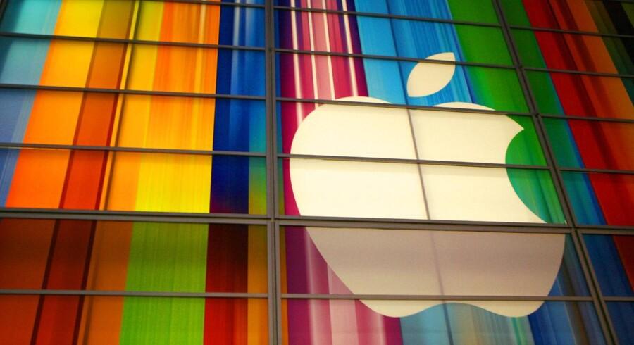 En iværksætterdrøm, der gik i opfyldelse. Apple Inc. er et af de store selskaber, der oprindeligt startede i Silicon Valleys iværksættermiljø. Arkivfoto.
