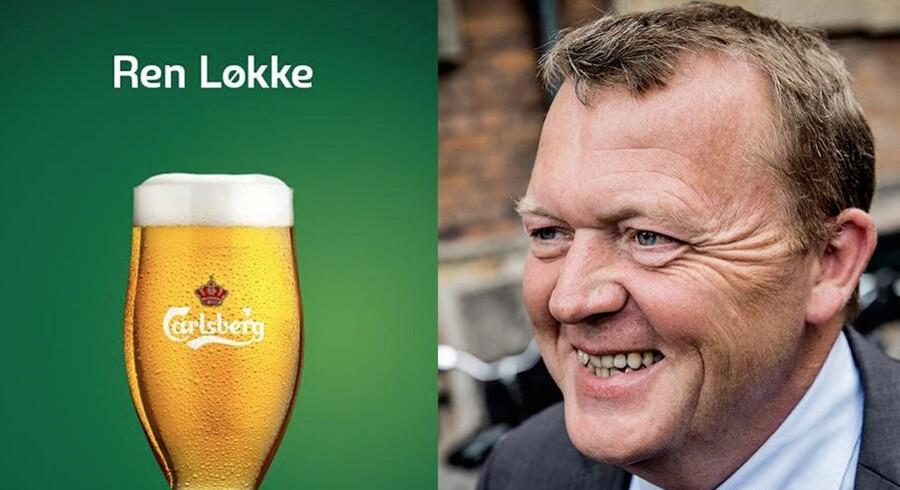 Carlsberg driller Løkke. Og han svarer igen.