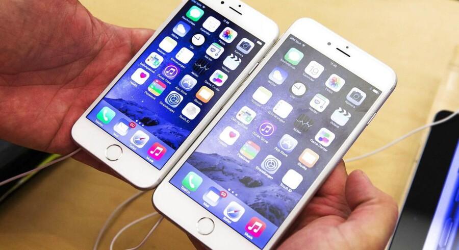 Arkivbillede: iPhones.