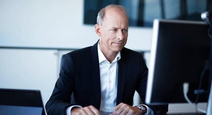 ARKIV FOTO. Adm. direktør Klaus Holse, Simcorp.