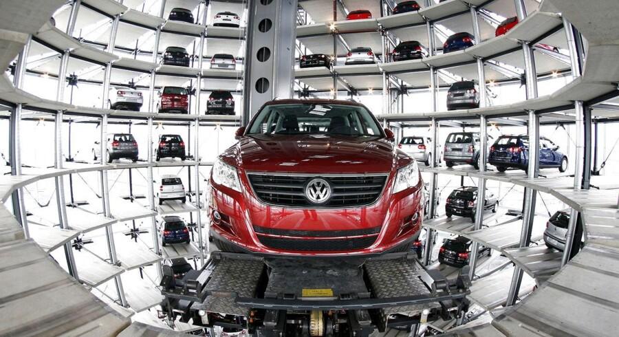 Volkswagen er tæt på at lukke en aftale i USA angående dieselskandalen. (REUTERS/Christian Charisius/File photo)