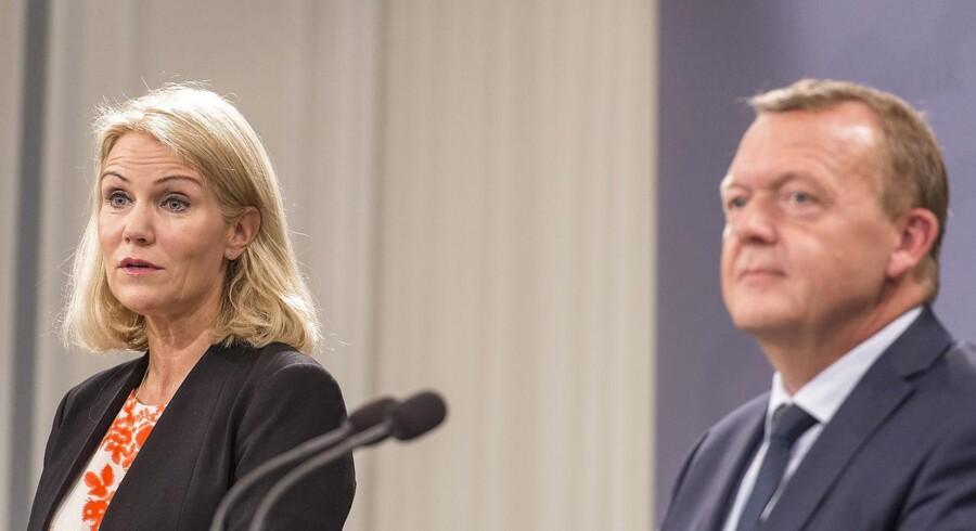 Statsminister Lars Løkke Rasmussen (V) indstillede selv Helle Thorning-Schmidt (S) til FN's flygtninge højkommisær, og han fastholder, at Thorning ville have været en rigtig god profil.