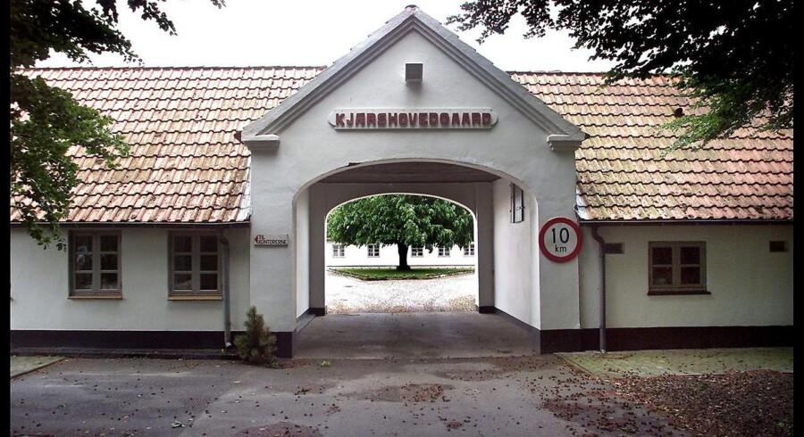 Kærshovedgård ved Ikast er ved at blive omdannet til udrejsecenter med en kapacitet på op til 600 personer.