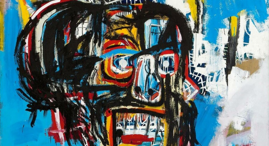 epa05973284 An undated handout photo made available by Sotherby's on 18 May 2017 shows an Untitled painting created in 1982 by deceased US artist Jean-Michel Basquiat. The painting was sold to Yusaku Maezawa, founder of e-commerce company Start Today, for 110.5 million US dollar. The sale marks the highest price ever paid for a work of art by an American artist. EPA/SOTHERBY'S / HANDOUT HANDOUT EDITORIAL USE ONLY/NO SALES