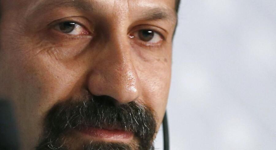 Asghar Farhadi i Cannes. Foto: EPA/IAN LANGSDON