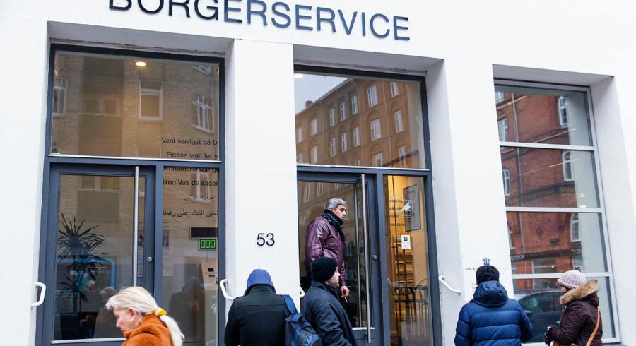 Udlændingestyrelsen og Borgerservice i Ryesgade i København
