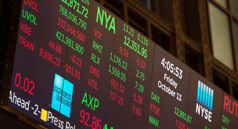 Der er udsigt til et uændret niveau på de ledende aktieindeks, når det amerikanske aktiemarked åbner tirsdag. Trods gode regnskaber fra blandt andet Goldman Sachs og Johnson & Johnson.