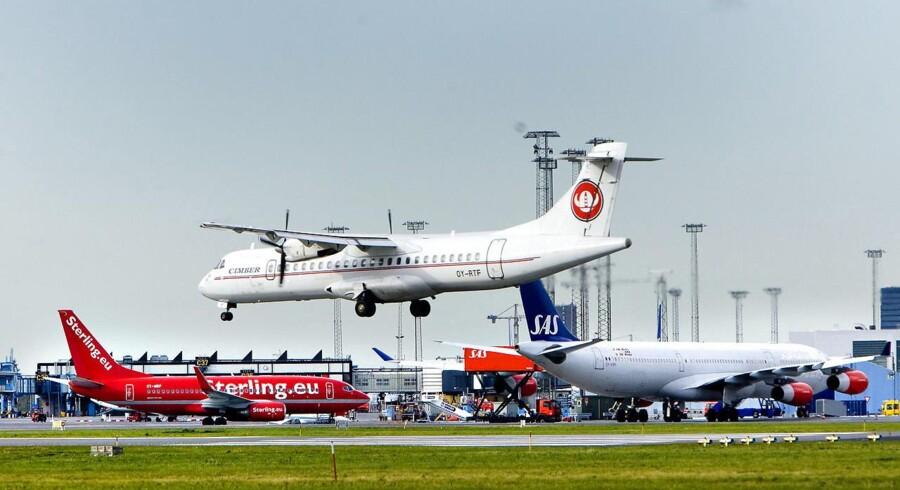 Arkivfoto: Ifølge den internationale luftfartsorganisation, IATA, steg den globale flypassagertrafik med 9,6 pct. i januar, hvilket er den største månedlige stigning siden april 2011. Det skriver branchesitet Check-In.