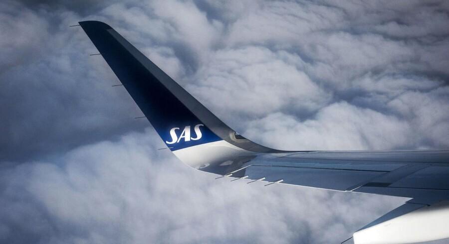 Arkivfoto. Det er ikke nogen hemmelighed, at SAS har haft kig på andre lande end Skandinavien, når talen falder på, hvor luftfartsselskabet baser skal ligge. Men der er endnu ikke nogen afgørelse om, om man skal flytte eksisterende baser til andre lande.