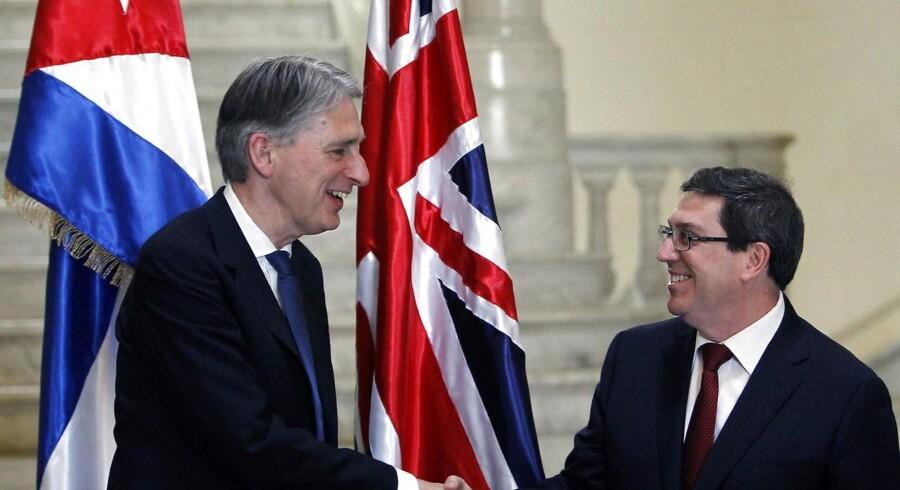 Philip Hammond skal efter planen holde en række møder med sit cubanske modstykke, Bruno Rodriguez, samt andre regeringsledere.