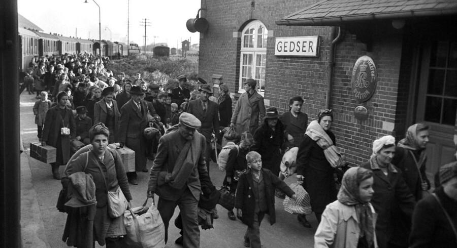 Millioner af mennesker var efter Anden Verdenskrig på flugt fra Den Røde Hær eller foredrevet fra Polen, Østprøjsen eller Pommern og Vesttyskland blev oversvømmet af flygtninge. Også fra Danmark gik flygtningestrømmen mod naoen i syd, da tusindvis af krigsflygtninge vendte tilbage til fædrelandet.
