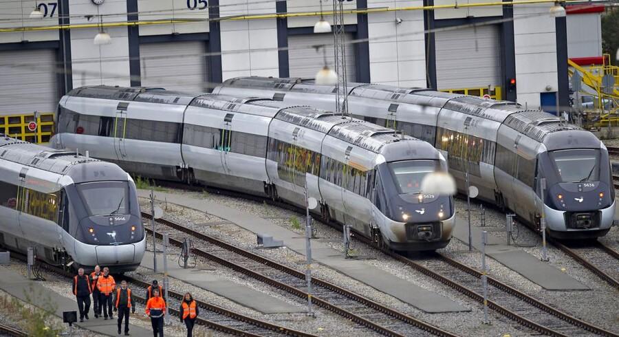 Arkivfoto: 2011 af IC4-tog.