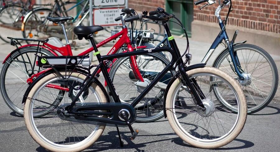 Elcykler får folk til at droppe bilen... Elcykler.