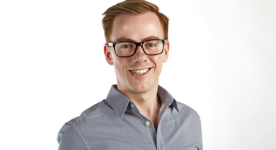 Jonas Stenbæk Christoffersen er redaktør på Berlingskes avis til børn Kid's News og far til tre. Hver uge skriver han om sit arbejde og liv med børn.