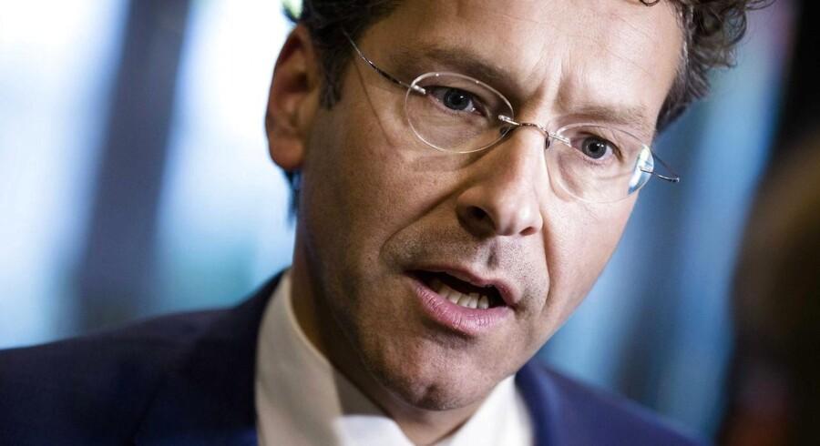Den hollandske finansminister, Jeroen Dijsselbloem, har meddelt, at eurozonen kan være klar med flere reformer allerede torsdag. Arkivfoto.