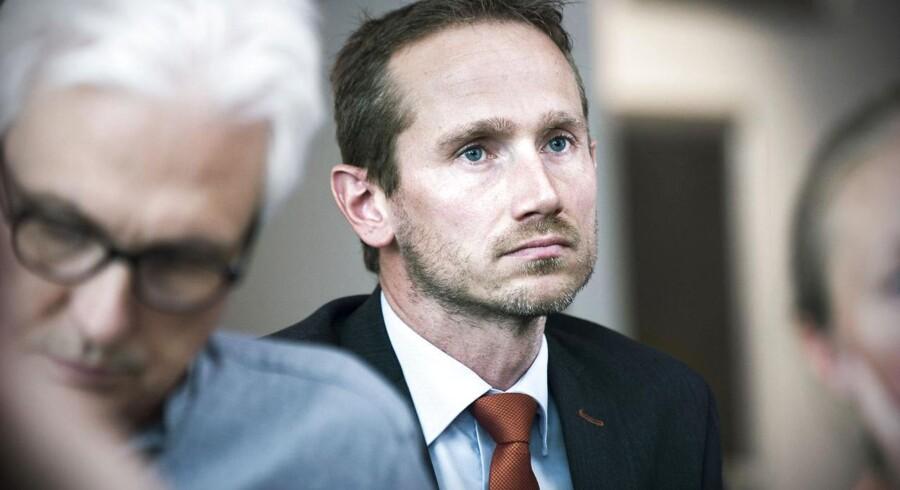 »Vi ser ikke noget behov for at ændre de danske regler for partistøtte,« siger Venstres næstformand Kristian Jensen. Arkivfoto: Jens Nørgaard Larsen